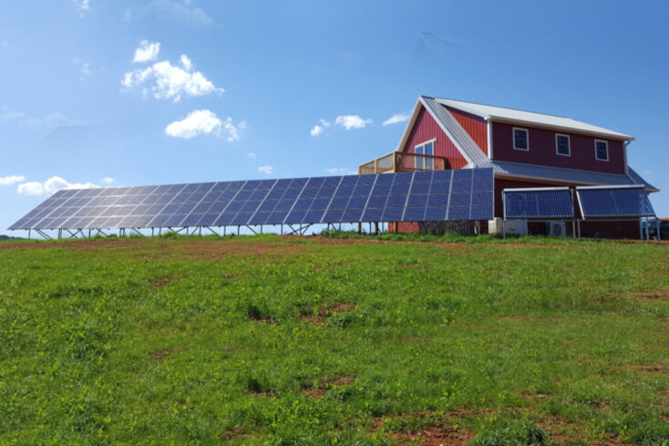 An off-grid/micro-grid sustainable solar power system
