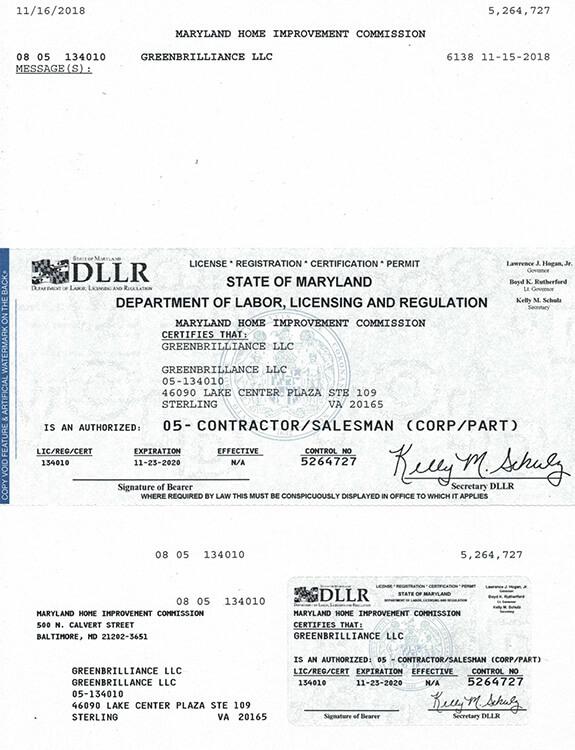 MD - License