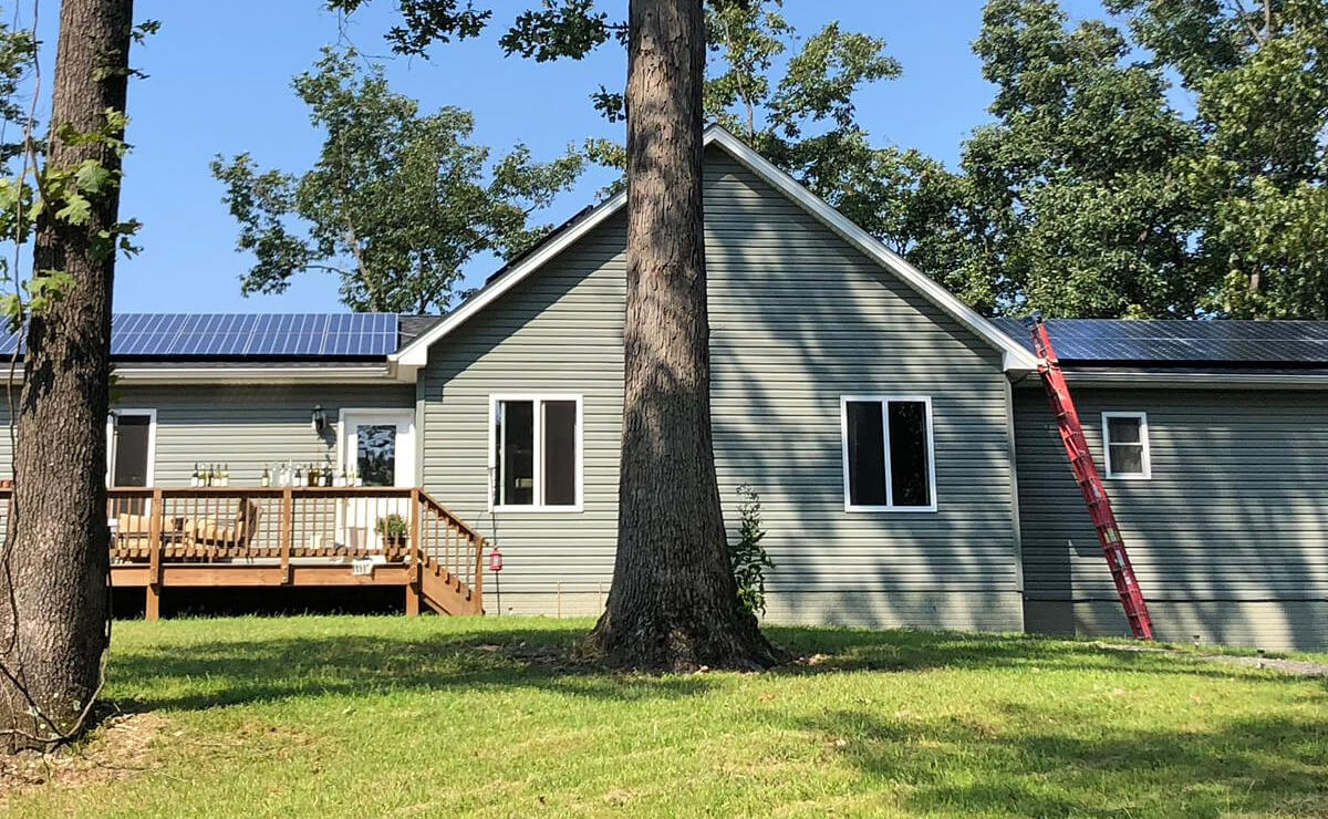A customer in Henrico County, Virginia goes solar with GreenBrilliance