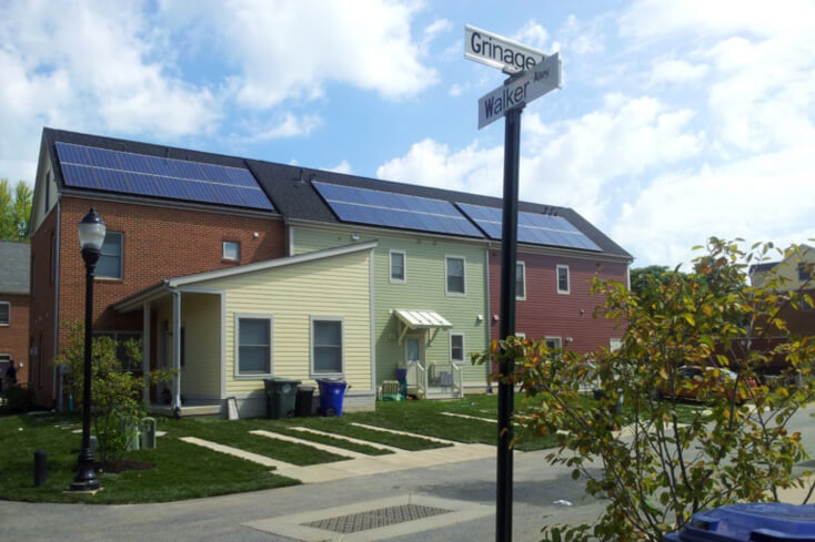 Sustainable and energy-efficient green homes with solar power
