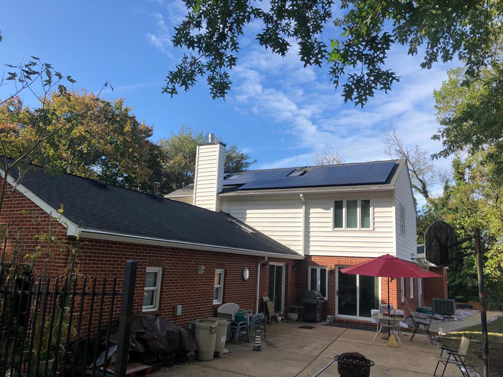 A home in Alexandria, Virginia goes net-zero with GreenBrilliance
