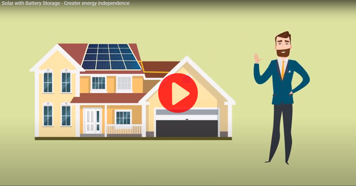 Solar with Battery Storage – Greater energy independence
