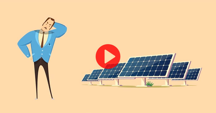 How is energy from solar panels measured?