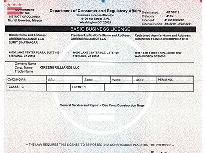 DC License