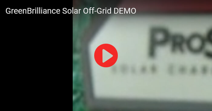 Solar Off-Grid DEMO