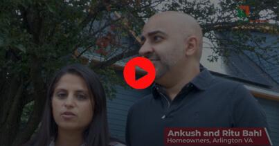 Homeowner: Ankush and Ritu Bahl – Arlington, VA