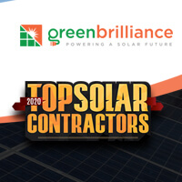 GreenBrilliance recognized among Top 200 Solar Contractors in the United States