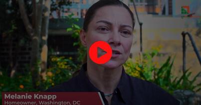 Homeowners: Melanie Knapp – Washington, DC