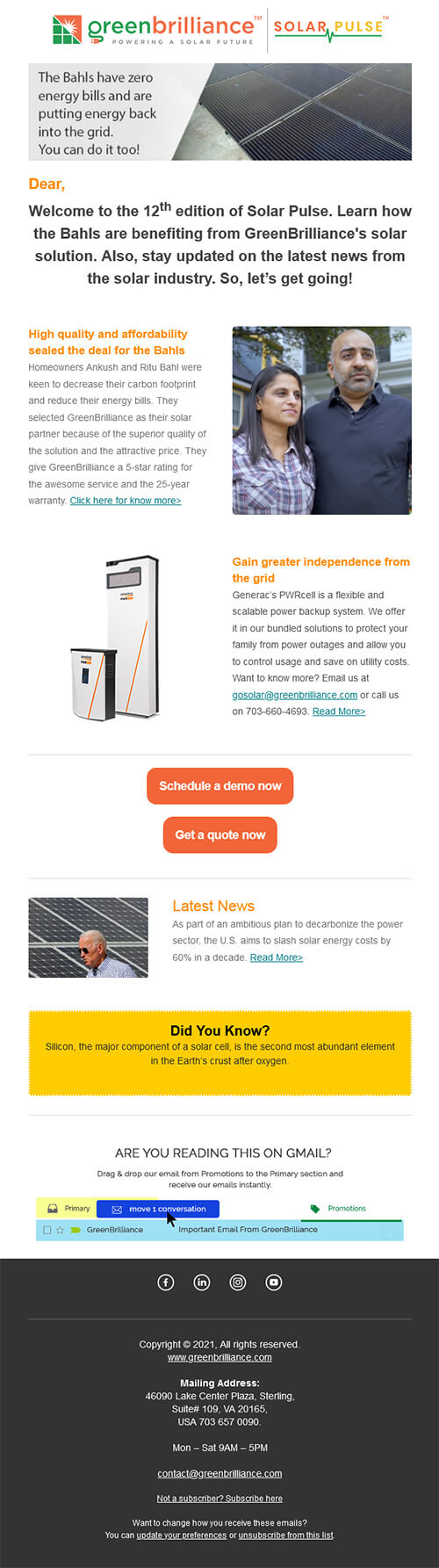 The Bahls have zero energy bills and are putting energy back into the grid. You can do it too!