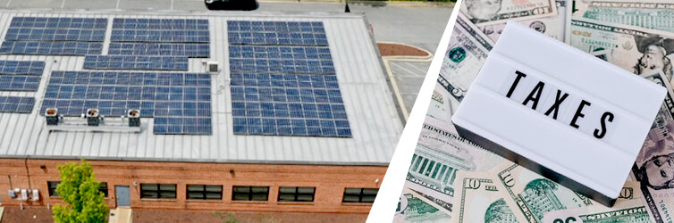 How does commercial solar tax credit work?