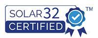 Solar 32 certified